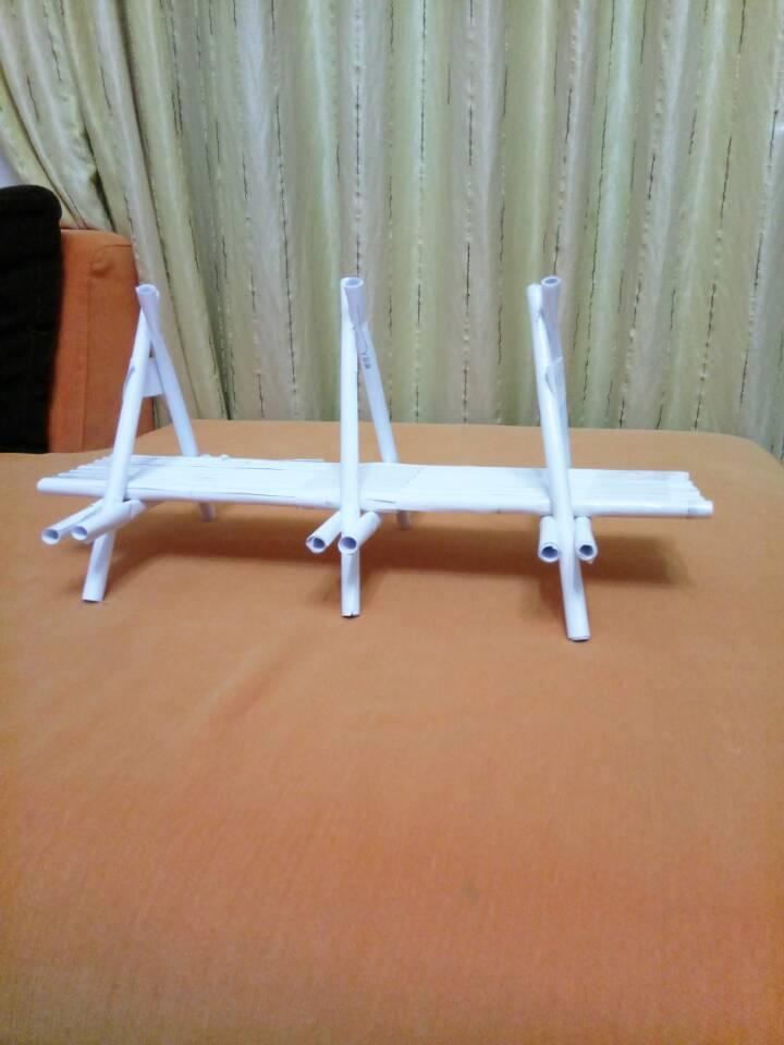 拱形纸桥手工制作图解